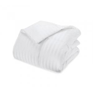 Одеяло Премиум лебяжий пух чехол страйп-сатин 300 гр/м2 140/205