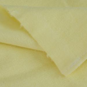 Пеленка фланелевая цвет желтый 75/120