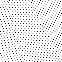 Ткань на отрез бязь плательная 150 см 1359/12 белый фон черный горох