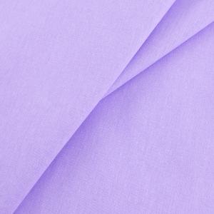 Бязь гладкокрашеная 120 гр/м2 220 см цвет фиалка розовая