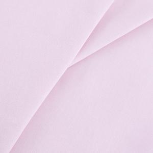 Бязь гладкокрашеная 120 гр/м2 220 см цвет светло-розовый