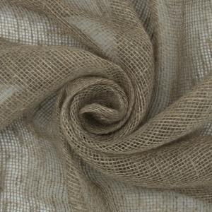 Ткань на отрез мешковина джут/лен 33/25 190 гр/м2 110 см