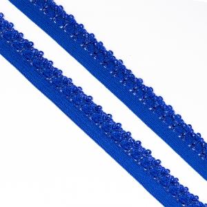 Резинка TBY бельевая 12 мм RB01223 цвет F223(20) яр.синий  уп 100 м