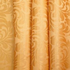 Портьерная ткань 150 см 2С391 цвет 12 оранжевый