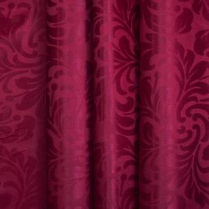 Портьерная ткань 150 см 2С391 цвет 14 малина
