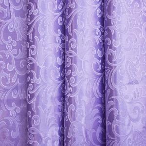 Портьерная ткань 150 см 100/2С цвет 19 сирень