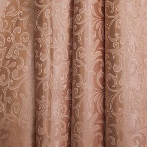Портьерная ткань 150 см 100/2С цвет 32 т/бежевый