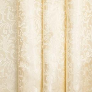 Портьерная ткань 150 см 100/2С цвет 72 бежевый