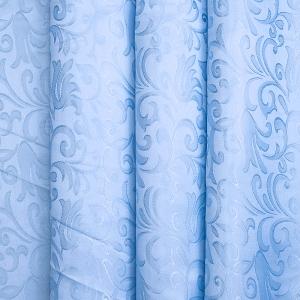 Портьерная ткань 150 см 100/2С цвет 17 голубой