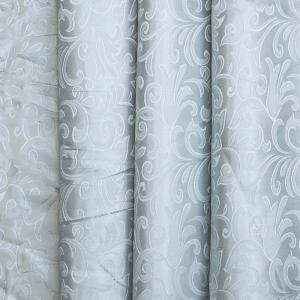 Портьерная ткань 150 см 100/2С цвет 16 серый