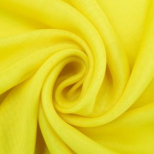 Ткань на отрез Вуаль 280 см 5 цвет желтый