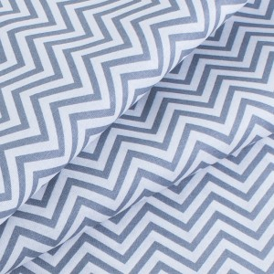 Ткань на отрез поплин 150 см 432/17 Зигзаг