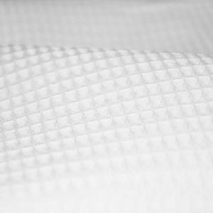 Вафельное полотно отбеленное 150 см 225 гр/м2 ячейка 7х7 мм