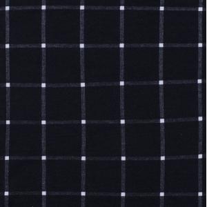 Ткань на отрез кулирка R1075-V1 Клетка цвет черный