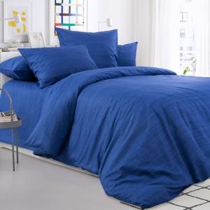 Постельное белье 2049315 Синий агат 1.5 сп перкаль