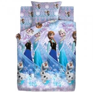 Детское постельное белье из хлопка 1.5 сп 8990/1 Сестры и Олаф