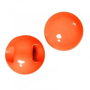 Пуговицы Блузочные/бусинка 10 мм цвет оранжевый 124 упаковка 24 шт