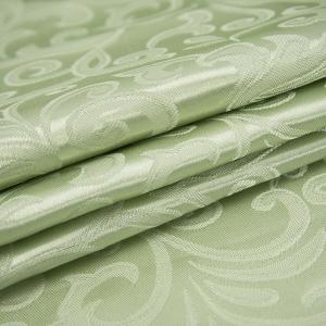 Портьерная ткань 150 см на отрез 100/2С цвет 6 салатовый