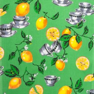 Ткань на отрез вафельное полотно 45 см 144 гр/м2 0915/1 Лимоны