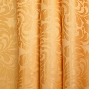 Портьерная ткань 150 см на отрез 2С391 цвет 12 оранжевый