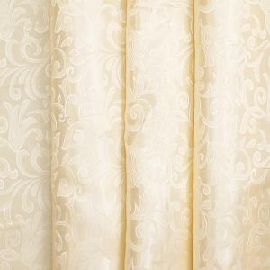 Портьерная ткань 150 см на отрез 100/2С цвет 72 бежевый