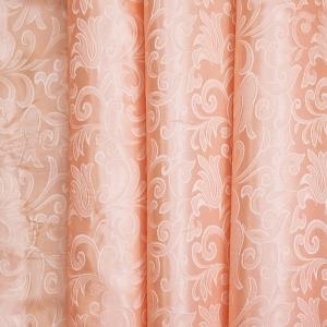 Портьерная ткань 150 см на отрез 100/2С цвет 29 персик