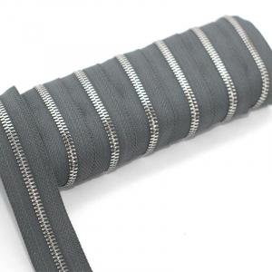 Молния рулонная металл №5СТ никель D392 темно-серый 1м