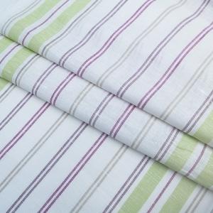 Ткань на отрез полулен полотенечный 50 см 3/27/20 Полоса светлая ива 703096
