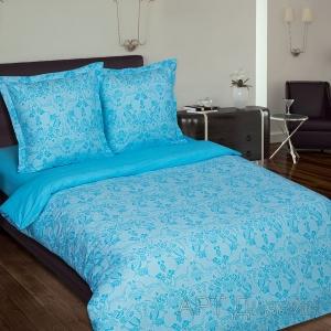 Поплин 220 см 115 г/м2 10115/5 Грация цвет голубой