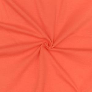 Кулирка однотонная цвет коралл