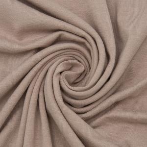 Ткань на отрез вискоза с лайкрой цвет визон