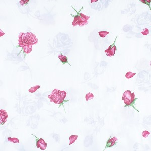 Ткань на отрез бязь о/м 120 гр/м2 150 см ММ25 Розы