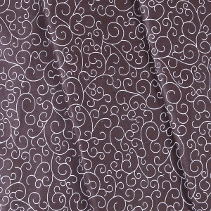 Ткань на отрез бязь плательная 150 см 1762/2 цвет шоколад