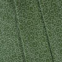 Ткань на отрез бязь плательная 150 см 1762/4 цвет зеленый