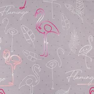 Поплин 220 см 115 г/м2 20573/1 Фламинго основа