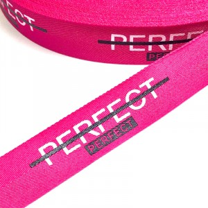 Тесьма розовая PERFECT 2,5см 1 метр уп 10 м