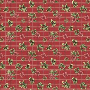 Ткань на отрез рогожка 150 см 204531Р Рождественский букет