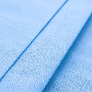 Ткань на отрез ситец 150 см 10150 голубой
