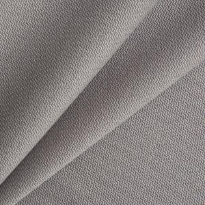 Ткань на отрез креп-костюмный цвет серый
