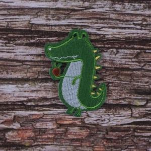 Термоаппликация ТАВ R2841 крокодил 6*4см