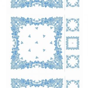 Ткань на отрез ситец платочный 80 см 69251