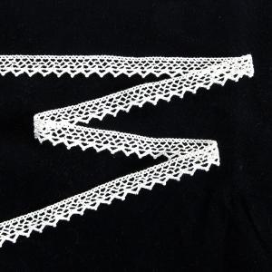 Тесьма вязаная хлопок ширина 15 мм (13.7 м)  цвет ХО-125 белый