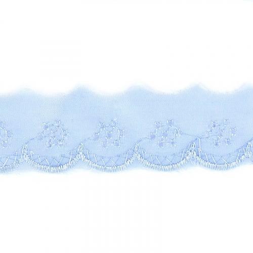 Шитье хлопок 40 мм/13.7 м 2751 цвет голубой