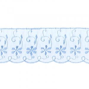 Шитье капрон 65 мм/13.7 м TJ-3101/D1991 цвет голубой