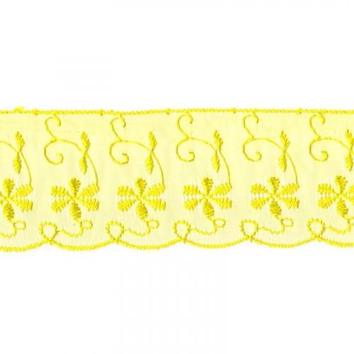 Шитье капрон 65 мм/13.7 м TJ-3101/D1991 цвет лимонный