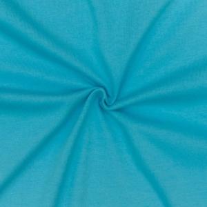 Кулирка однотонная цвет светлая бирюза