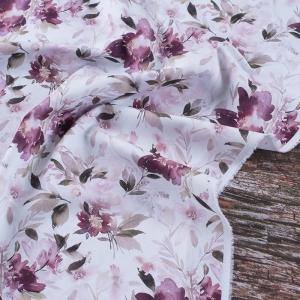 Ткань на отрез перкаль 150 см 90015 Акварельные цветы