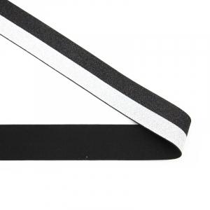Резинка декоративная 2281 черный серебро с люрексом 4см