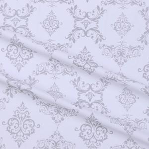 Бязь плательная б/з 150 см 8105/39 Дамаск цвет серый