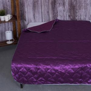 Покрывало детское Шелк двухстороннее цвет фиолетовый 105/150